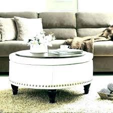 large round storage ottoman large round ottoman coffee table round storage ottoman coffee table target tufted
