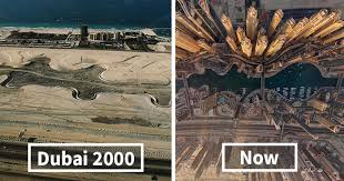 Dubai Before And After 30 Before And After Pics Showing How Famous Cities Changed Over Time