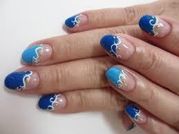 残暑対策ネイルはブルーで涼しげに清瀬のネイルを選ぶなら素敵な