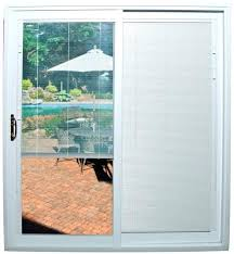 blinds between the glass sliding patio door how to fix inside intended for sliding patio doors