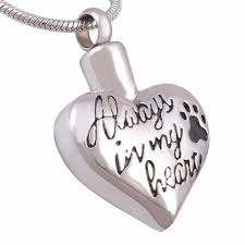 pet cremation necklace end snless steel jewelry dog ashes urn keepsake pendant waterproof high quality