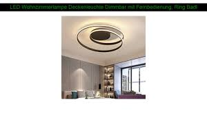 Vingo 16w led deckenbeleuchtung rund deckenlampe starlight effekt schön wohnraum wohnzimmer lampe weiß. Beleuchtung Flurlampe Wohnzimmerlampe Led Design Deckenleuchte Dimmbar Mit Fernbedienung Mobel Wohnen Propertybrokers Cl