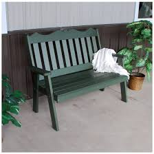 english garden bench. Contemporary English Au0026L Furniture 4 Ft Poly Royal English Garden Bench Inside D
