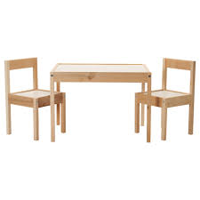 contemporary childrens wood table and chairs wallpaper