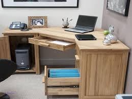 stunning natural brown wooden diy corner desk. White Corner Computer Desks New Rectangle Natural Brown Wooden Puter Desk With Shelves Stunning Diy