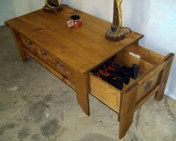 Coffee Table: Attractive coffee table with hidden storage designs ...