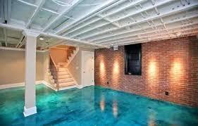 Painting Basement Floor Ideas Impressive Design Ideas