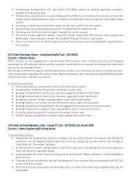mdm resume 3 sap mdm consultant sample resume