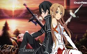 Kết quả hình ảnh cho asuna và kirito