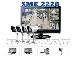 sme 2220 8ch roxsat electronics and cctv samsung sme 2220 recondition 22 in lcd w 8ch dvr kit