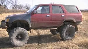1994 Toyota Solid Axle 4Runner (04/09/12) - YouTube