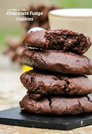 Chewy Chocolate Cookies Chewy Chocolate Fudge Cookies Swanky Recipes
