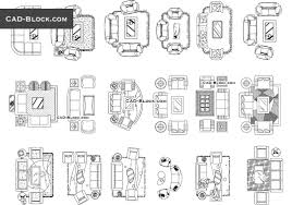 Living Room Plan Cad Blocks Free Download Drawings In Autocad 2000