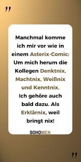 Lustige Sprüche Lustig Witzig Funny Kollegen Asterix