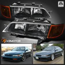 honda accord jdm. for 19941997 honda accord crystal headlightscorner lamp jdm black jdm