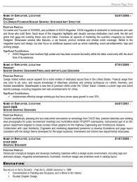 Emt Resume Job Description Emt Resume Objective Graphic Designer