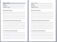 book report worksheet bookreport formsheet png bookreport formsheet png