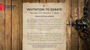 invitation to debate martin luther s theses by thomas chevis  invitation to debate martin luther s 95 theses project video thumbnail