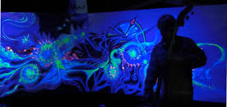 glow in the dark paint for wallsFaerie homesfurnishings and enchanted lands by Tatiana Katara