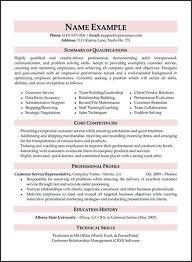 30 Sample Resume Summary For Customer Service Representative Images
