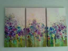 new graham and brown trio canvas water colour fl meadow 20