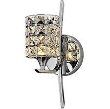 bathroom sconce lighting modern. Lightess Crystal Wall Sconce Lighting Modern Lights Glass Lamp For Bathroom Home Mirror Light