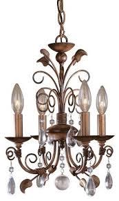 minka lavery 3127 126 mini chandeliers 4 light 1 tier mini crystal chandelier