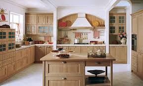 Exposed Brick Kitchen Kitchen Room Appealing Light Brown Painted Kitchen Cabinets