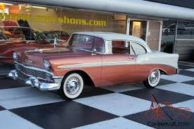 56 chevy bel air great colors free usa