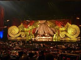 Elton John Million Dollar Piano Seating Chart View From Our Seats The Set Pre Show Picture Of Elton