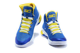 under armour shoes blue and yellow. quantity: add to bag. men\u0027s under armour ua stephen curry one home mid basketball shoes blue/white/yellow blue and yellow