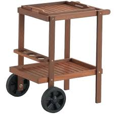temple webster parklands timber outdoor serving trolley reviews outdoor serving table free plans for outdoor serving