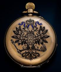 """this """"p der watch"""" is from the year 1505 and was made by peter antique russian imperial presentation gold pocket watch by pavel bure paul buhre circa"""
