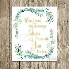 when i count my blessings print irish blessing printable irish blessing wall art gold and green wedding quotes wedding gift instant download on irish blessing wall art with when i count my blessings print irish blessing printable irish