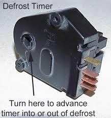 refrigerator defrost cycle diagnostics defrosttimer jpg 61112 bytes