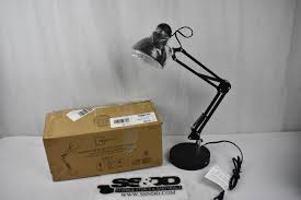 The very simplest repair on the gooseneck desk lamp is changing the light bulb. Mainstays Led Swing Arm Architect Desk Lamp With Usb Charging Port Black New Estatesales Org