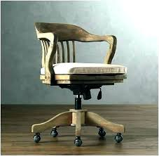 leather antique wood office chair leather antique. Vintage Desk Chair Chairs Antique Wooden Office Wood  With Leather .