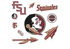 florida state seminoles logo assortment wall decal