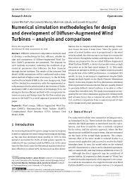 Limiting Factors In Turbine Design Numerical Simulation Methodologies For Design And