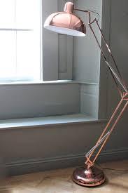 in floor lighting fixtures. copper angled floor lamp in lighting fixtures o