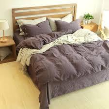 blue white bedding sets linen cotton bedding set king size bed linen bedclothes queen deep purple white blue grey comforter sets quilt bedding in bedding