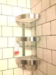 shower corner shower shelves lovely marble shelf designs sh