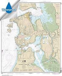 33 7 X 46 5 Waterproof Paradise Cay Publications Noaa Chart