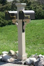 mailbox posts metal. Mailbox Post Sleeve The Texture Double Comes With Two Metal Mounting Brackets And Your Choice Of . Posts