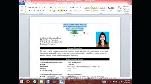 How To Make A Resume On Word Custom How To Create A Resume On How To Make Resume On Word As How To Make
