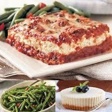 lasagna dinner delivered