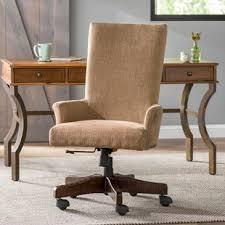desk chair wood. Sarita High-Back Desk Chair Wood