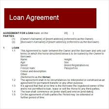 Free Loan Agreement Sample Loan Agreement 100 Free Documents Download in PDF Word 57