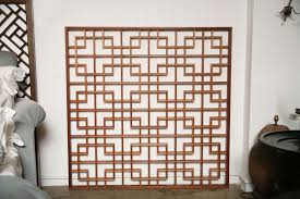 a reion of a classic chinese lattice panel in mahogany a beautiful wall decoration