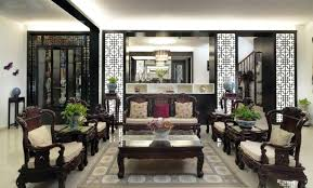 asian themed furniture. Oriental Living Room Furniture Dramatic Wooden Divider Has Been Teamed With Intricately Detailed Asian Themed |